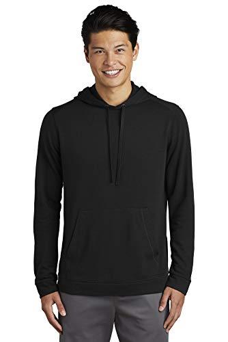 Sport-Tek Men's PosiCharge Tri-Blend Wicking Fleece Hooded Pullover
