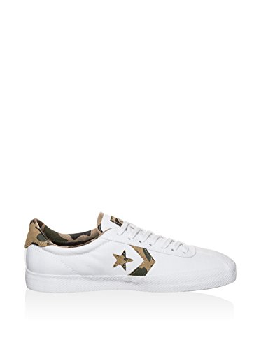 Converse Cons Breakpoint OX Sneaker weiß / braun / oliv