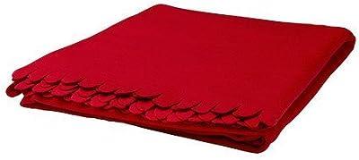 IKEA polarvide Manta, color rojo 130x 170cm