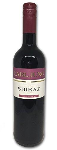 Carl Jung Shiraz - alkoholfreier Wein / Rotwein - 0,75l
