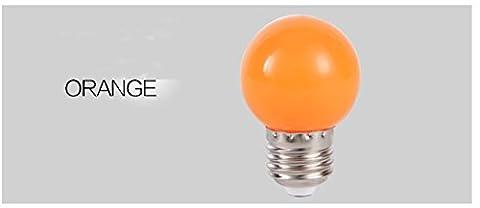 Lugii Cube E273W Économie d'énergie Lumière 1pcs éclairage de la maison coloré ampoule LED, orange