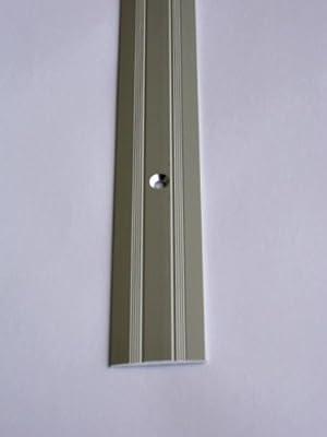 1 Übergangsprofil selbstklebend für Laminat & Parkett in Silber von IHK - TapetenShop
