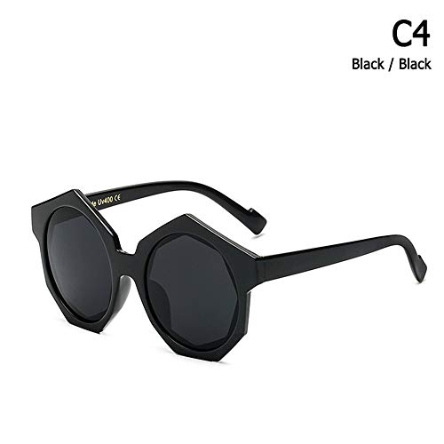 ZHOUYF Sonnenbrille Fahrerbrille Mode Coole Hexagon Frame Sonnenbrille Männer Frauen Trend Street Snap Marke Design Sonnenbrille Oculos De Sol, A