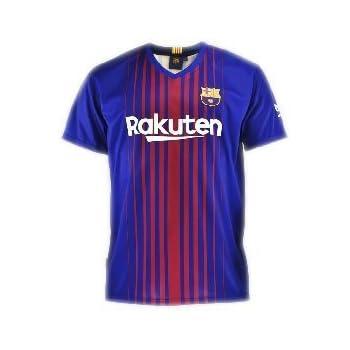 cfc183a3a Camiseta 1ª Equipación Replica Oficial FC BARCELONA 2017-2018 Sin Dorsal  LISO - Tallaje ADULTO