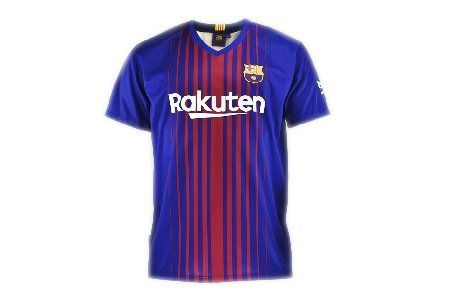 Camiseta F.C. Barcelona réplica oficialadulto 2017-18. Unisex.Réplica oficial autorizada con etiqueta y copyright del club.