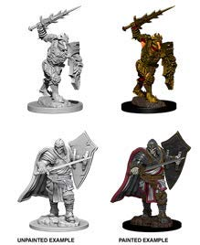 Dungeons & Dragons Nolzur's Marvelous Unpainted Minis: Death Knight & Helmed Horror