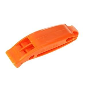 Silbato De Emergencia De Supervivencia Al Aire Libre-Doble Frecuencia naranja brillante