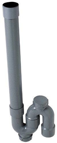 Wirquin SP5002 Siphon de machine à laver simple crosse
