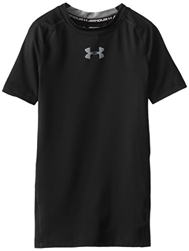 Under Armour Jungen Shirt und Tank Fitness - T-shirts & Tanks, Blk, L -
