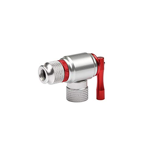ad Bike Inflation Valve Head Handle Inflation Nozzle Bike Fast Inflation Accessories for Road and Mountain Bikes ()
