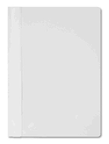 STYLEX 41149 Schnellhefter, PP-Material, weiß