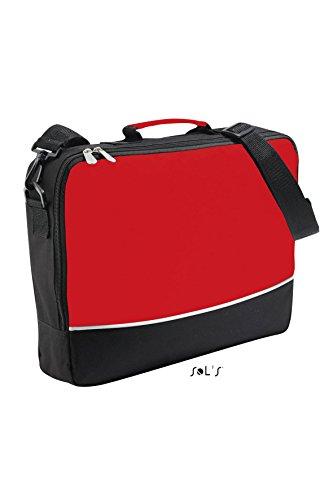Sols Bags , Borsa Messenger  Unisex - adulto rosso