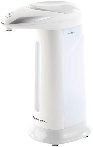 PEARL Sensor Seifenspender: Automatischer Seifenspender mit Bewegungssensor grau (Elektrischer Seifenspender)