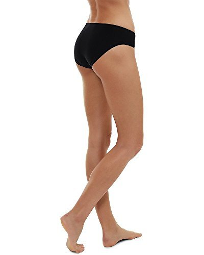 Womens Invisible Underwear Seamless No Show Black Knickers Pants Gym Sports Wear Test