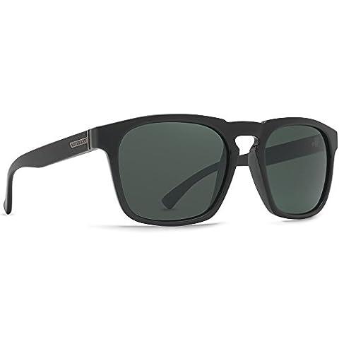 Von Zipper Banner Sunglasses Black Gloss ~ Vintage Grey