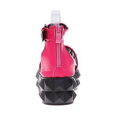 NVXZD Da donna-Sandali-Tempo libero Ufficio e lavoro Formale Casual-Club Shoes Creepers Comoda D'Orsay Suole leggere-Polacche-PU (Poliuretano)- Nero