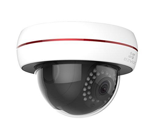 EZVIZ CS-CV220-A0-52EFR C4S (4 mm) Außen Internet-Kamera-1080P PoE, weiß