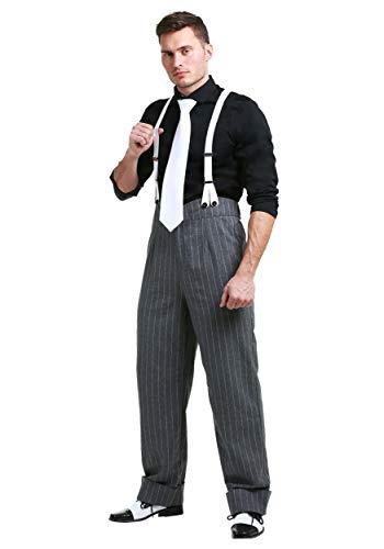 Gangster Für Erwachsenen Plus Kostüm - FUN Costumes Men's Plus Size Mafia