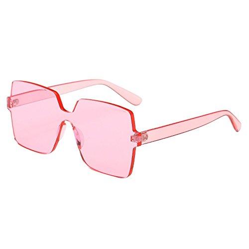 Oyedens Big Frame Sonnenbrillen Sonnenbrillen - Frauen Männer Vintage Retro Big Frame Brillen Unisex Sonnenbrillen Eyewear