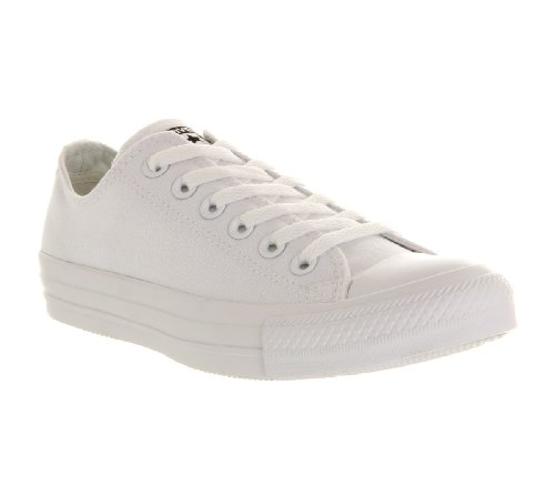Converse As Ox Can Nvy, Sneaker Unisex – Adulto Bianco (White Mono Canvas)