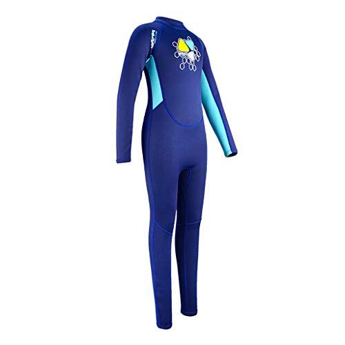 AIni Kinder Neoprenanzug Surfanzug,Wetsuit Schwimmen Surfanzug Surfen Tauchen Sport Badeanzug Kinder Tauchen Einteiliger Tauchanzug Neopren Schnorcheln Neoprenanzug Surfen