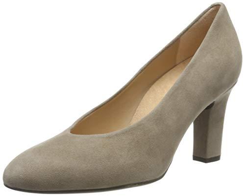 Unisa Umberto_KS, Zapatos Tacón Mujer, Beige Taupe