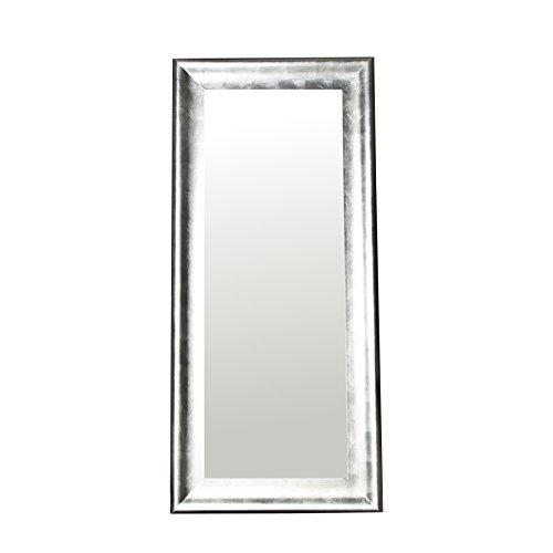 XXL Imposanter Design Standspiegel BRILLADO silber 190x90cm Spiegel
