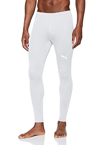 PUMA Erwachsene Liga Baselayer Long Tight Hose, White, XL