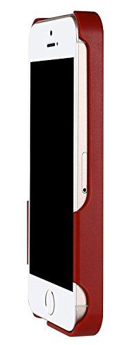 Ultra Fin Coque Batterie Externe Pour iPhone 5/5S/5SE Plus Wireless Power étui de chargement - Stacking Power Protection Smart Case