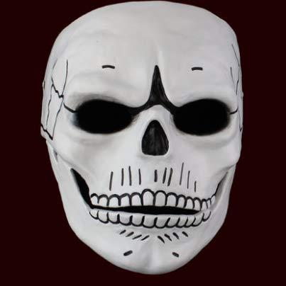 Kostüm Partei Ideen Männliche - HLJZK Halloween-Harz-schwarzer Ritter-V-Vendetta-männliche