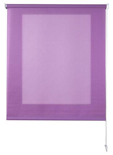 Estores Basic Store Enrouleur translucide Lilas 120x6x175 cm Lilas