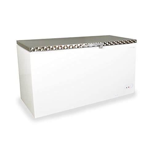 31KGkk8GgnL. SS500  - Capital Midas 550 Chest Freezer | A+ Rated | Stainless Steel Lid