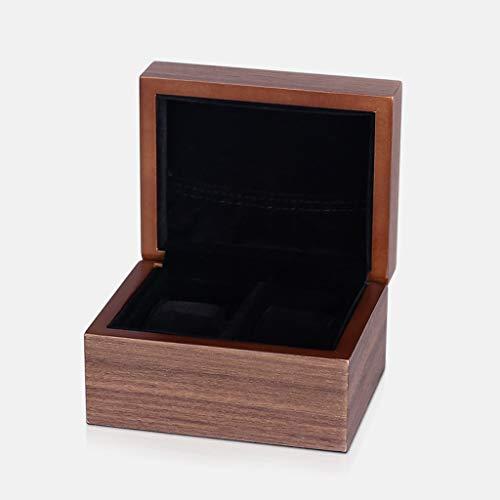 Uhrenbox Holz Aufbewahrungsbox Schmuck Uhrenbox Simple Home Portable (Size : Double)