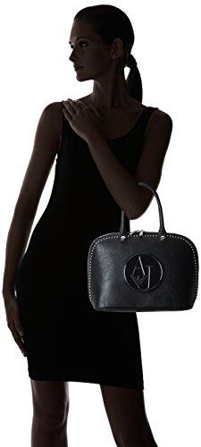 Armani Jeans Unbekannt , Sac à main pour femme Noir - Schwarz (NERO - BLACK 12)