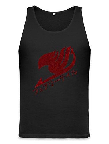 Dragon-Scale Fairy Tail Logo Unisex Tank Top Medium -