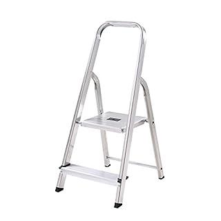 Abru 12002 2 Tread DIY Stepladder - Silver