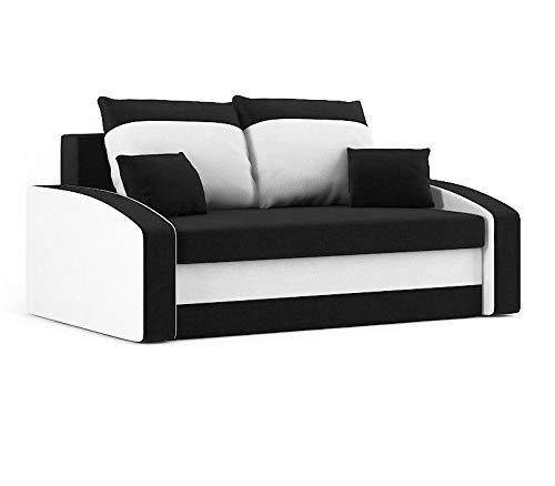 Sofini Sofa Hewlet mit Schlaffunktion! Best Sofa! 2- Sitzer Sofa! (Haiti 17+ Haiti 0)