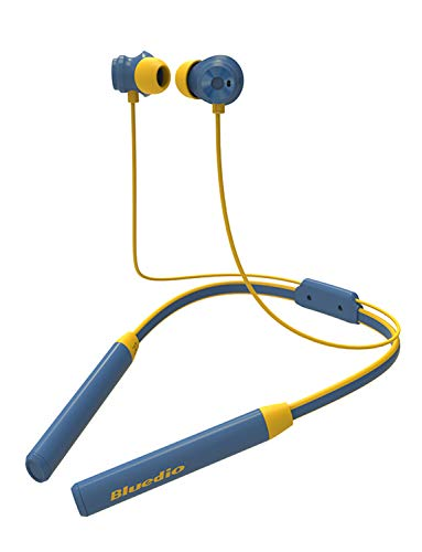 Bluedio TN2 Función Anti-Sudor Auriculares Bluetooth 4.2, con microfono, Cascos inálambrico Deportivos, Ruido de Cancelación, Estéreo, Utilizado por más de 12 Horas(Azul)