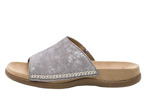 Gabor Damen Pantoletten Pantolette 23.705.60 (F) grau 682575