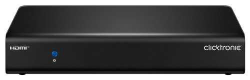 Clicktronic Advanced Quad HD HDMI Splitter (1 IN/2 OUT, 4K Ultra HD, 3D-TV)