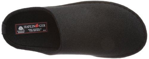 Haflinger  Flair-Soft,  Pantofole unisex adulto Nero (Schwarz (3 schwarz))