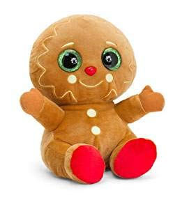Keel Toys SX2730 Gingerbread Man, Brown -
