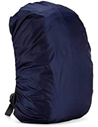 TASHKURST™ Waterproof Rain Cover for Backpack and Bags with Pouch Navy Blue Protects from Rain Mud Dirt Ideal for Laptop Bag Cover, Luggage Bag Cover, School Bag Cover, Trekking Bag Cover