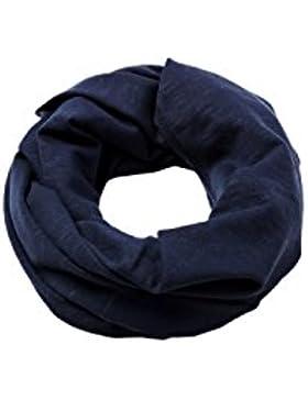 Esprit Accessoires 028ea2q008, Bufanda para Hombre, Azul (Navy 400), Talla única (Talla del fabricante: 1SIZE)