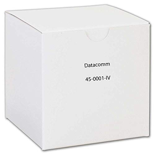 DATACOMM ELECTRONICS 45-0001-IV 1-Gang Recessed Cable Plate (Ivory) -