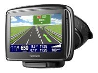TomTom Go 740 Live EU 32 Navigationssystem (10,9 cm (4,3 Zoll) Touchscreen-Display, Flash-Speicher 2 GB , Bluetooth, GPD-Empfänger) schwarz