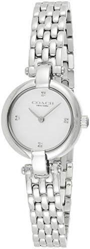 Coach Womens Quartz Wrist Watch, Analog and Stainless Steel- 14503390