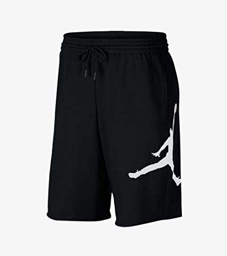 Nike Fashion Shorts (Nike Herren M J Jumpman FLC Short Sport, Black/White, S)