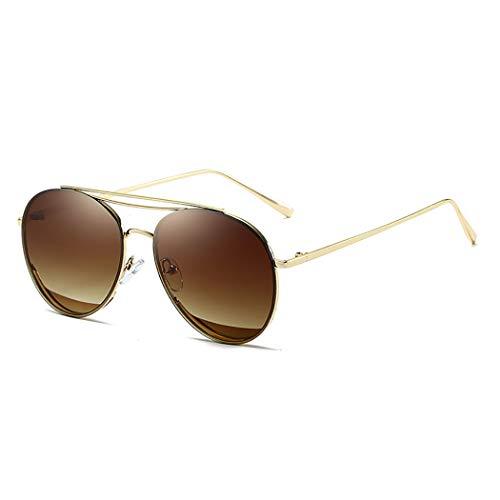 Junbosi JunbosiMetall-Sonnenbrillen Damen Sonnenbrillen Anti-uv Shade Sonnenbrille Driving Mirror Anti-Glare Metal Frame Multi-Color Optional,H,OneSize