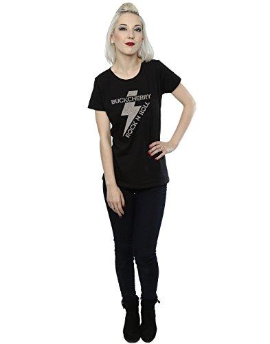 Buckcherry Femme Rock N Roll Bolt T-Shirt Noir
